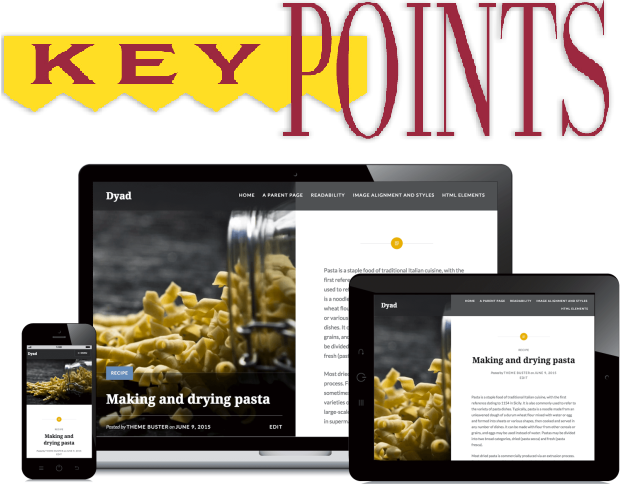 key poitns for responsive web design
