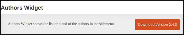 Authors Widgets