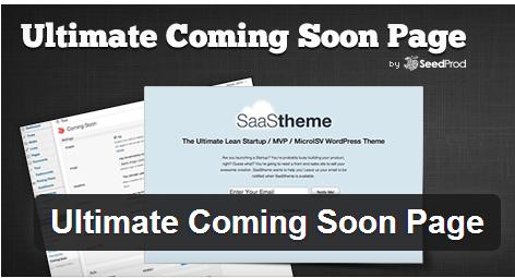 UltimateComingSoonPage