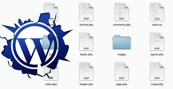 Breaking HTML file into WordPress theme files