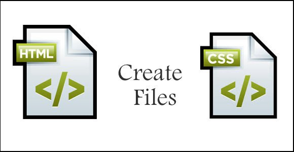 create-index-html-and-style-css-files